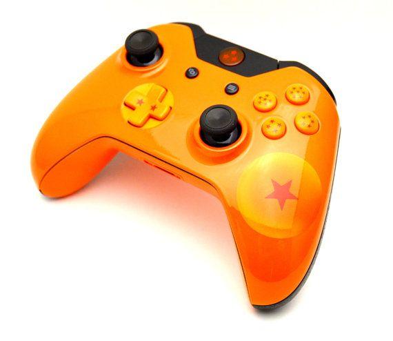 Dragon Ball Z Custom Xbox One Controller by LaZaModz on Etsy, $199.99
