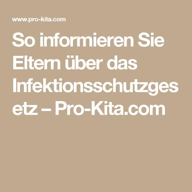 So informieren Sie Eltern über das Infektionsschutzgesetz – Pro-Kita.com