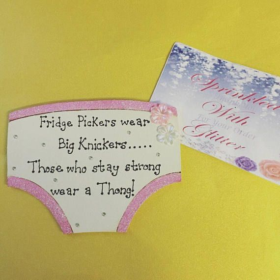 Fridge pickers wear big knickers quote wooden pants plaque as