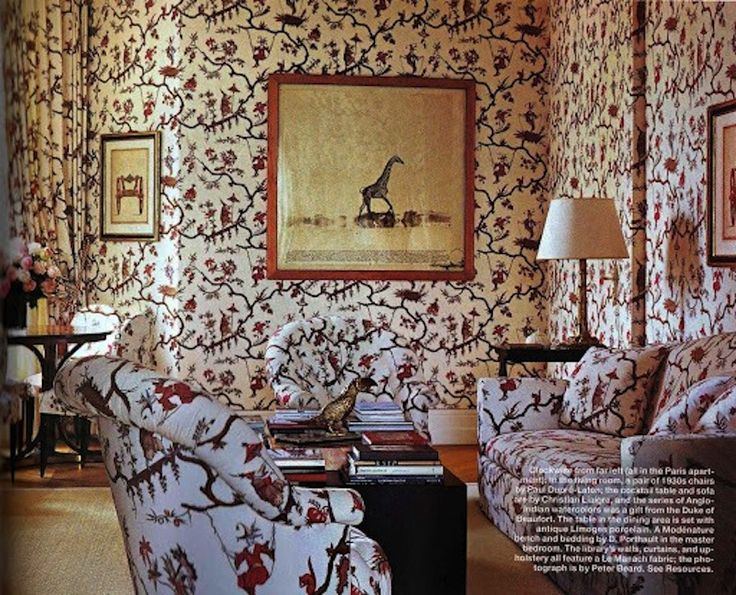 wonderful over the top example of chinoiserie le manach