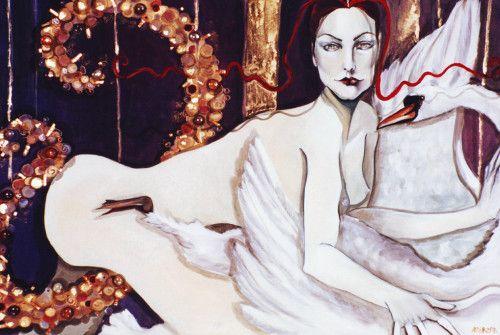 Leda e il cigno - Cristina Giargia