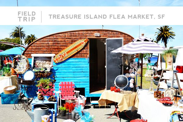 Treasure Island Flea Market // Fluxi On tour