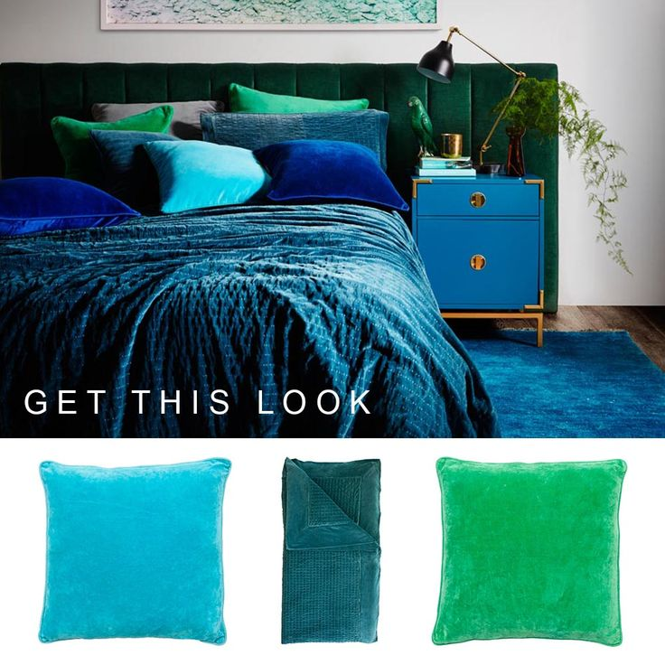 Recreate this lush 70's inspired look with the Lynette Series Cushions and Throws made from 100% Cotton Velvet. www.eadielifestyle.com.au