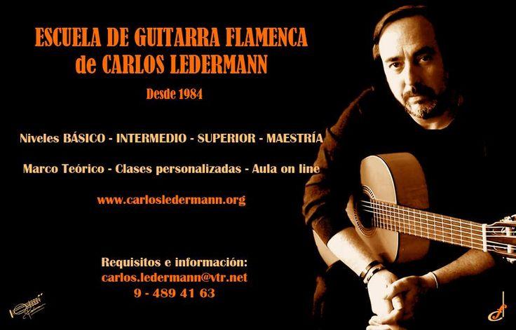 ESCUELA DE GUITARRA FLAMENCA Carlos Ledermann. Fundación Guitarra Flamenca. www.fundacionguitarraflamenca.com