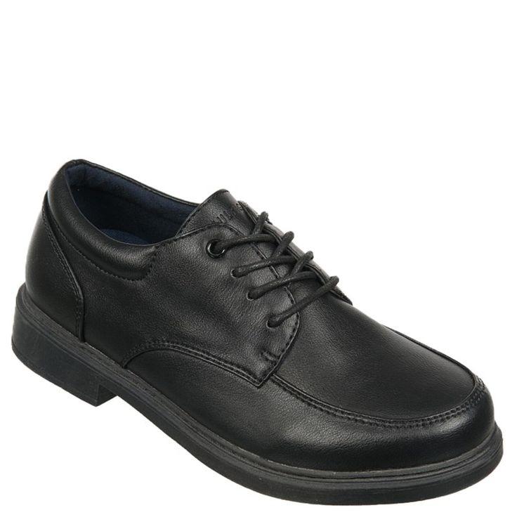 Tommy Hilfiger Kids' Robbie Lace Oxford Pre/Grade School Shoes (Black)