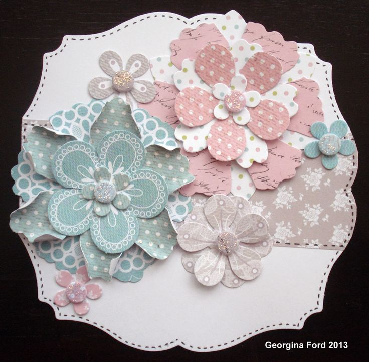 Craftwork Cards Blog: Beautiful flowers