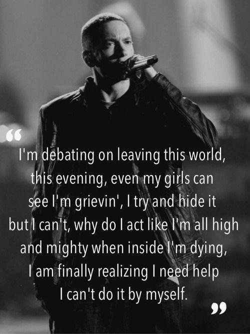 quotes about change eminem tFug6Us5y | Eminem quotes ...