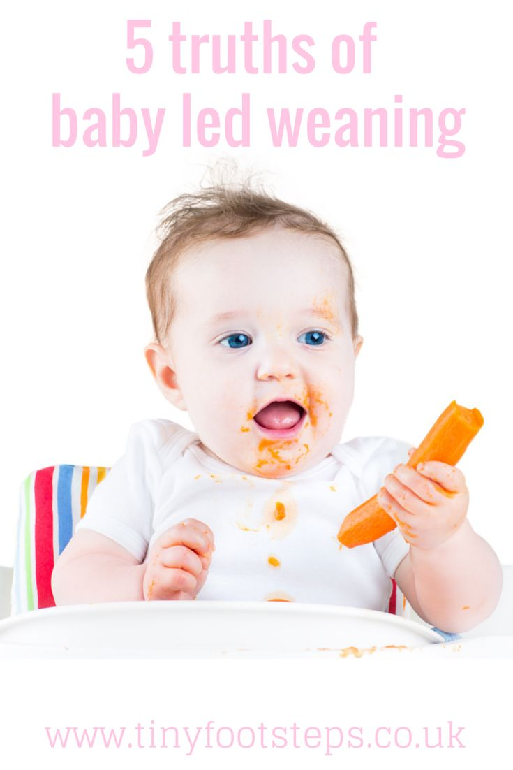 Tinyfootsteps: 5 Truths of Baby Led Weaning