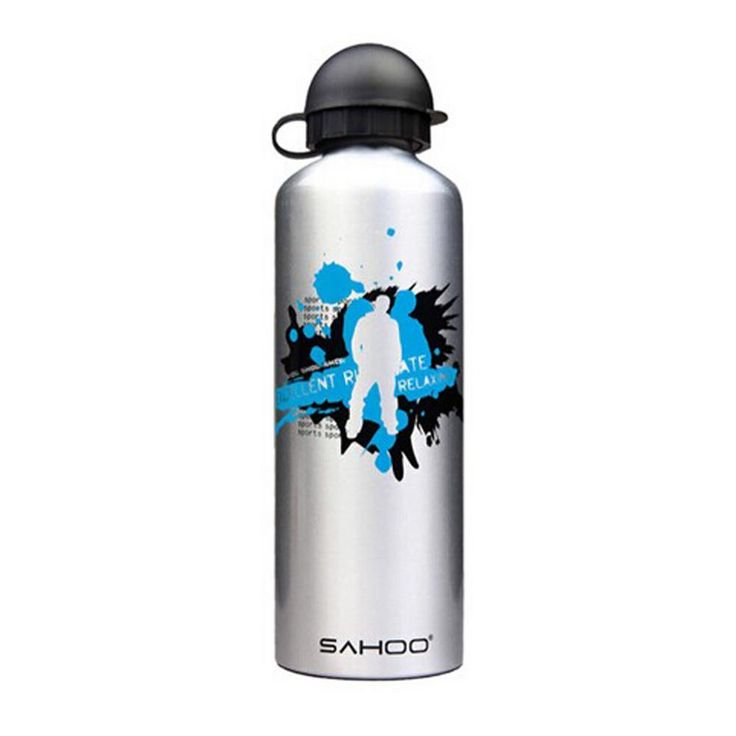 High Quality Aluminium Alloy Water Bottle Bicycle Water Bottle (Silver, 0.7L)