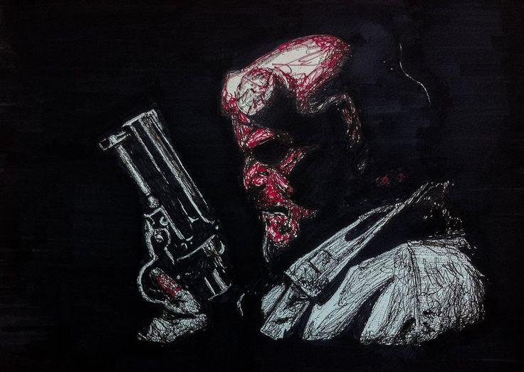 Hellboy by SuckThePipe.deviantart.com on @deviantART