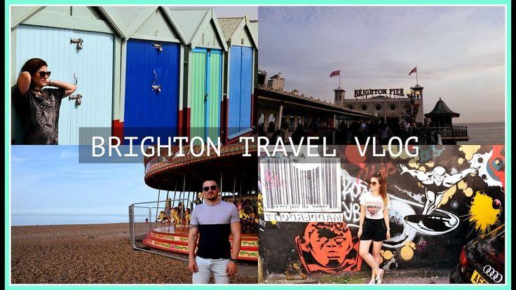Brighton Travel Vlog! #travel #brighton #vlog #happy #girl #video