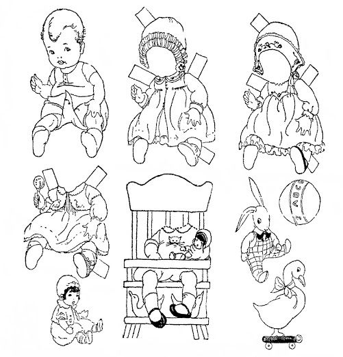 205 best Paper Doll colouring printables images on Pinterest