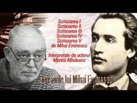 TOATE SCRISORILE LUI MIHAI EMINESCU (I, II, III, IV, V) - YouTube
