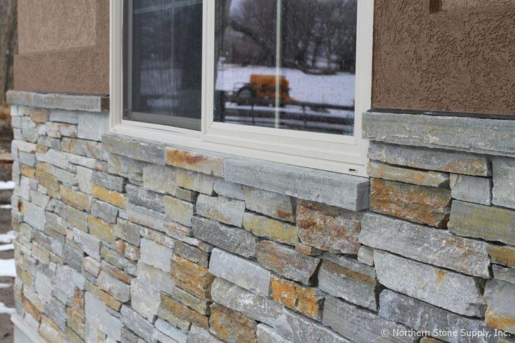 Sill Stone Rocky Mountain Quartzite E Z Set Wainscot
