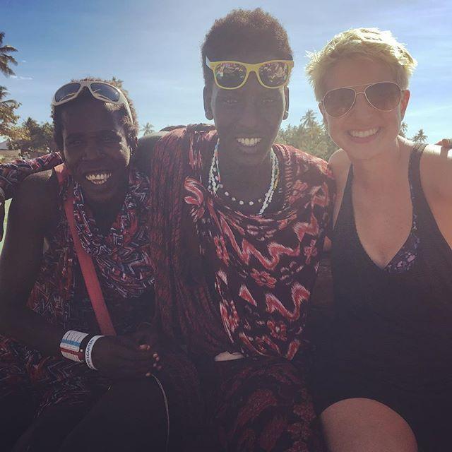 Everyone needs a couple of Maasai friends! #tanzania #africa #zanzibar #maasai #maasaifriends #globetrotter #wanderlust