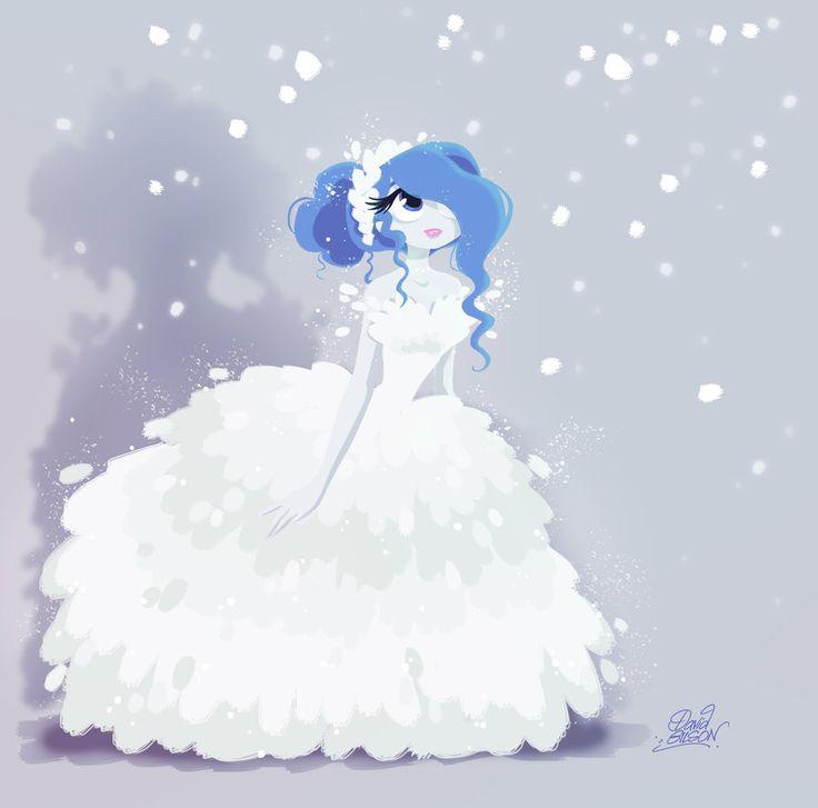 Soupir in the Snow by princekido.deviantart.com on @DeviantArt