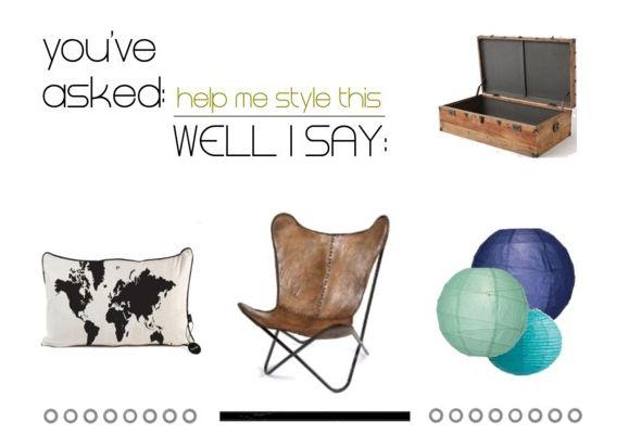 la tazzina blu: Help me style this: il baule da viaggio