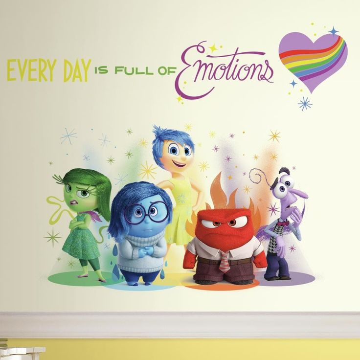 Features: -Disney. -Multi color. -Made in the USA. Product Type: -Wall decal. Theme: -Disney. Color: -Multi-colored. Number of Items Included: -6. Compatible Surface Type: -Flat surface. Appl