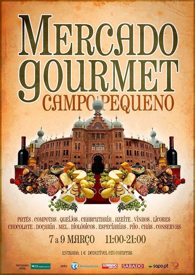 Mercado Gourmet 2015 at Campo Pequeno in Lisbon - 6-8 March
