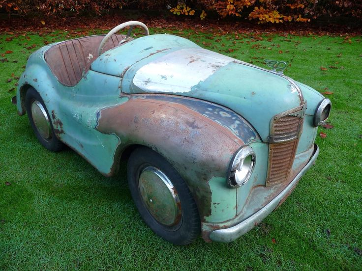 1950s Austin J40 Pedal Car. To see more pictures of this pedal car be sure to visit Chasing Pedal Cars Facebook Page