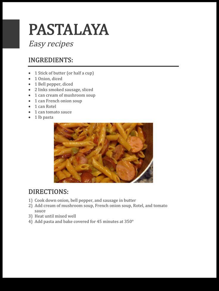 Easy Pastalaya Recipe