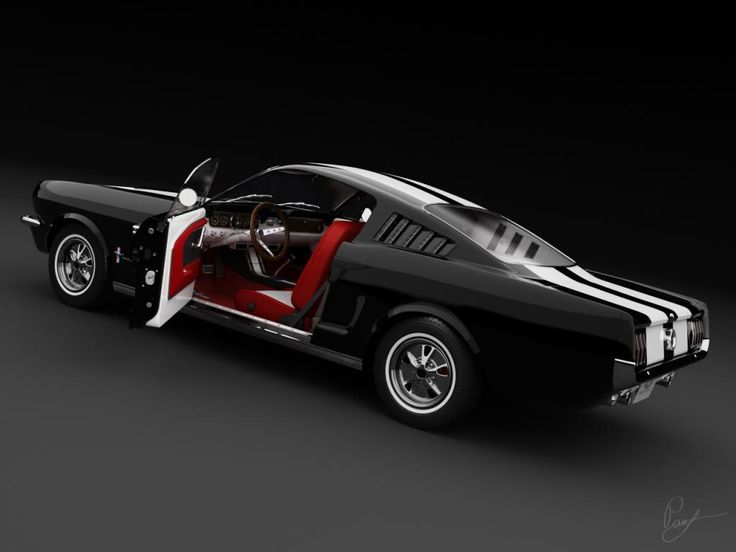 Ford Mustang Fastback '65 {yes, please! Santa!?!}