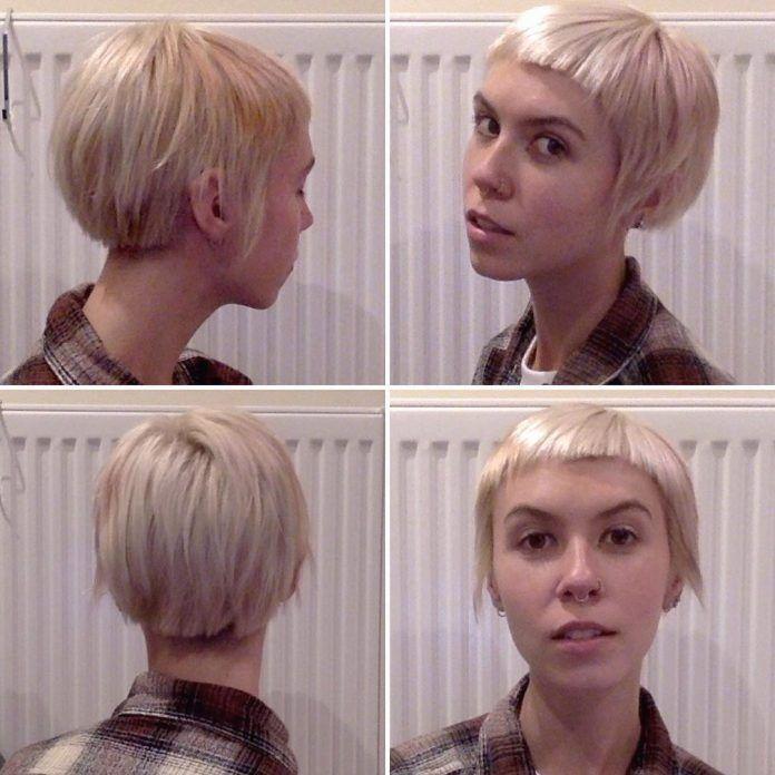 30 Short Micro Bob Haircut Ideas Hairs Bobs Haircuts Short Hair Model Short Hair Styles