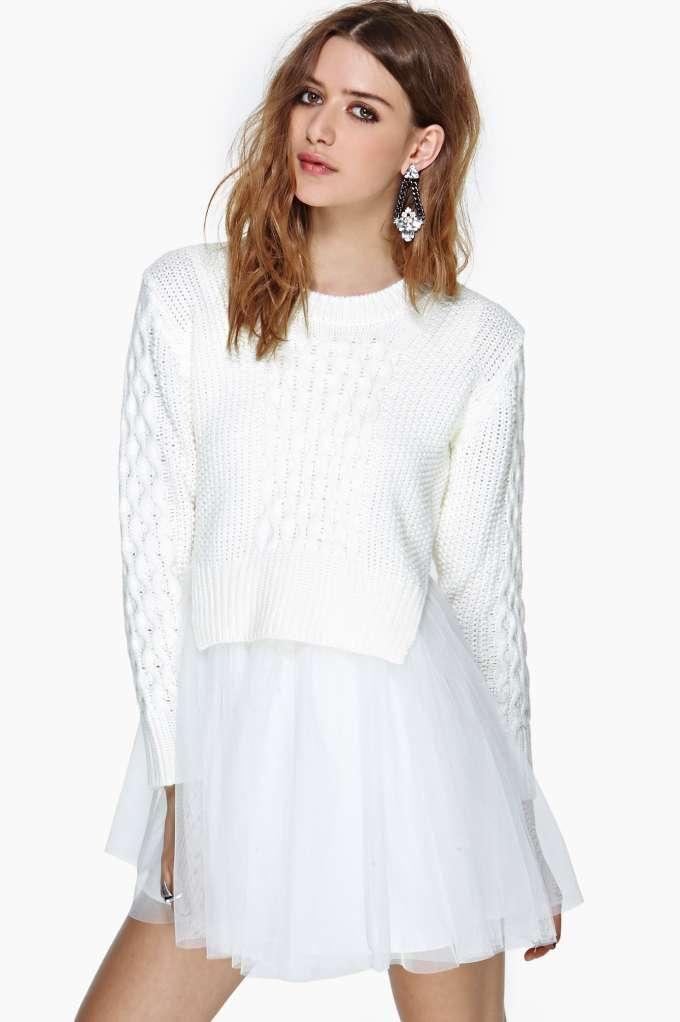 UNIF Chloe Sweater Dress