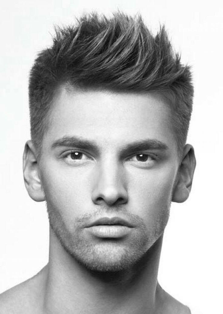 Картинки модельных причесок для мужчин