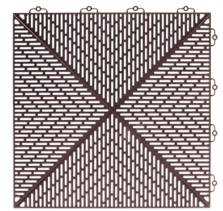 Bergo Unique Floor tile Colour: Brown Velvet