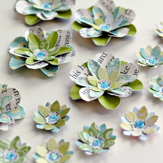 I will be making these!: Paper Roses, Paper Flowers, I'M, I Will, Repurposed, Diy Projects, Handmade Paper