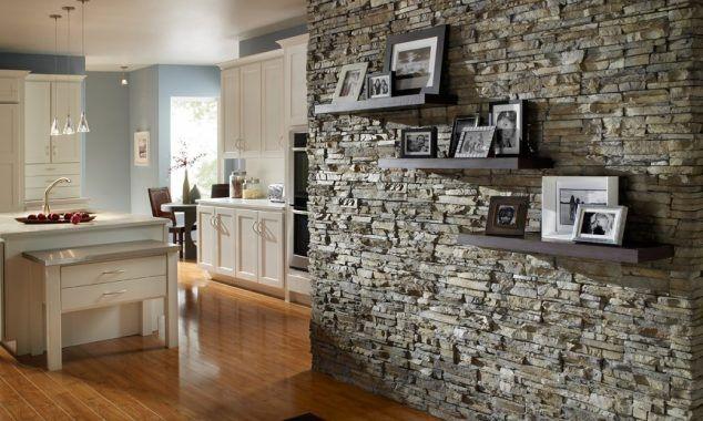 12 Stacked pedra paredes que vai acrescentar charme em sua casa