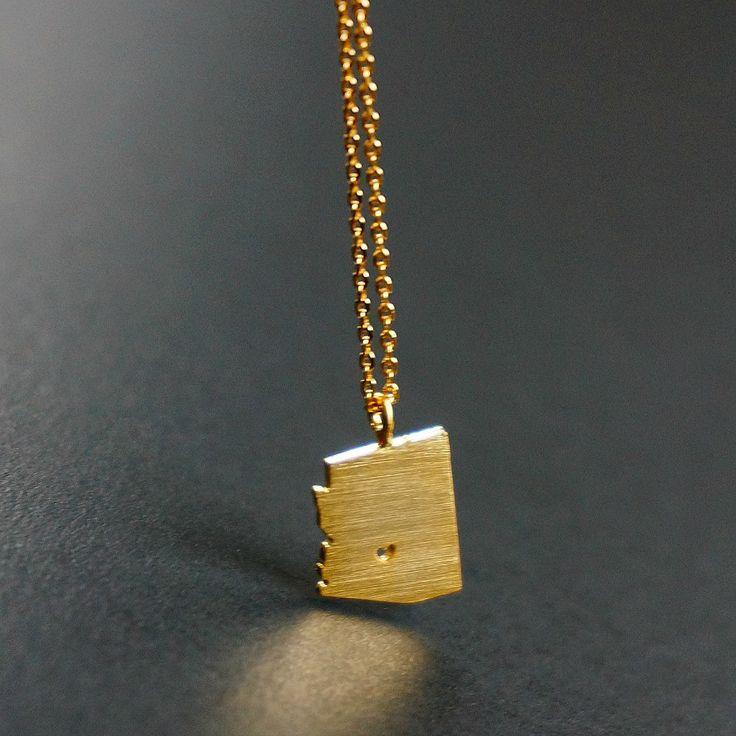 'Arizona' Gold Necklace