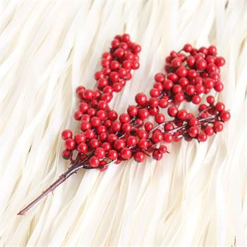Christmas Tress Decoration Fruits Ornaments Christmas Party Supplies Red Berry Fruit String Christmas Tree Decoration 20cm