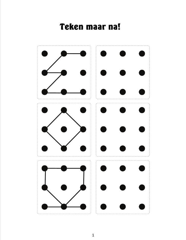 Natekenen van figuren 5