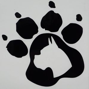 Boxer-Dog-Paw-Print-Car-Truck-Funny-Window-Vinyl-Decal-Sticker-Choose-Color