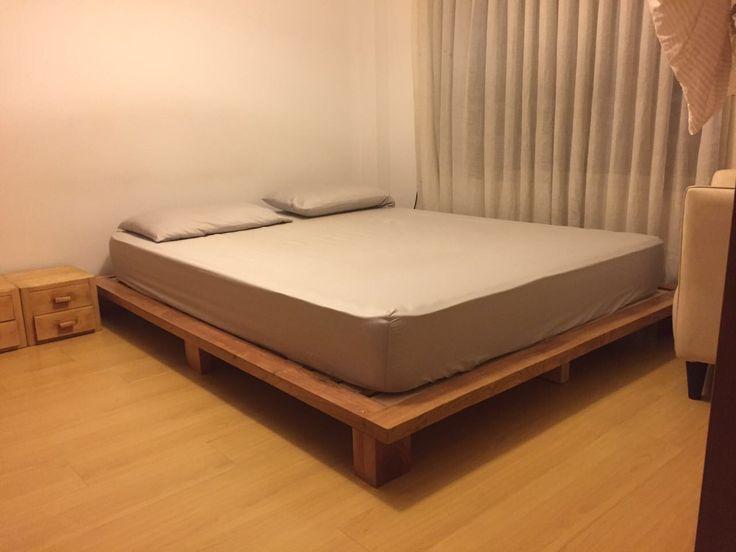 17 melhores ideias sobre cama japonesa no pinterest - Cama japonesa tatami ...