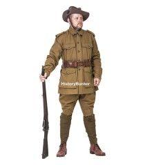 WW1 Australian 2nd pattern Army uniform - WW1 ANZAC uniforms - WW1 AIF uniform - world war one australian army uniforms