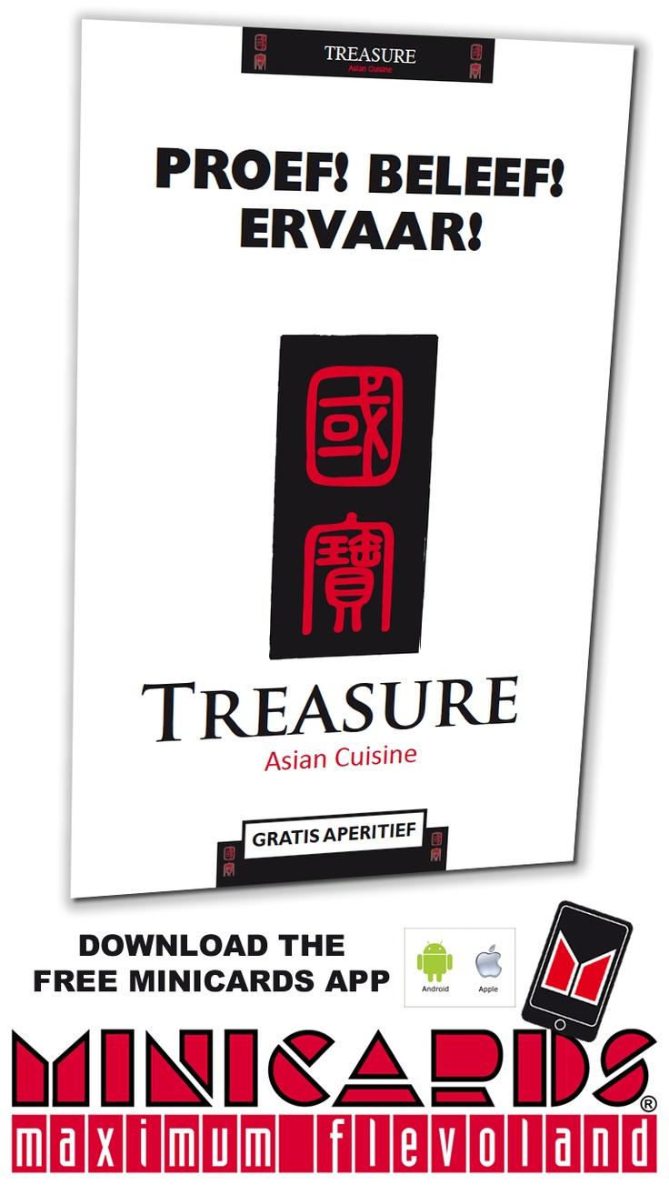 Treasure Asian Cuisine  op de minicard