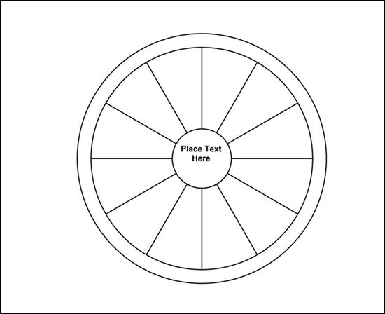 circle maps template spider diagram free templates and examples