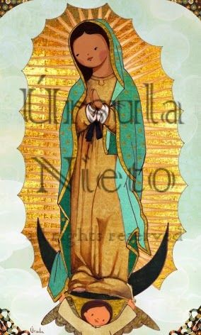 Virgen de Guadalupe. Our Lady of Guadalupe