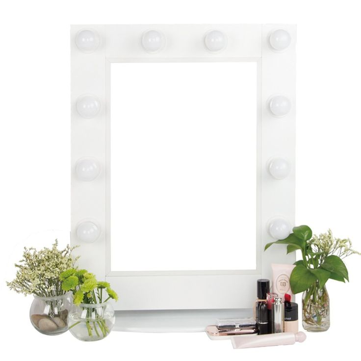 25+ best ideas about Lighted makeup mirror on Pinterest Mirror vanity, Makeup vanity tables ...