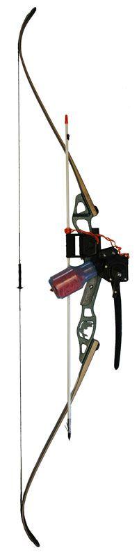 Heron Bowfishing Recurve Bow - Instinct Archery | Trust Your Instinct™