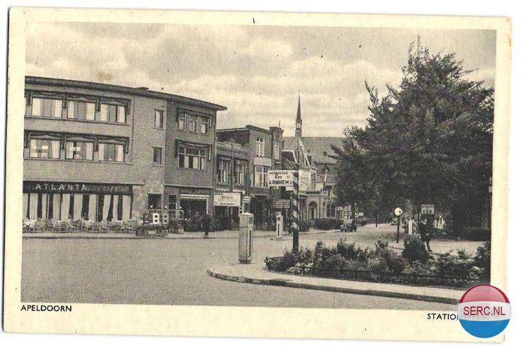 Stationsplein Apeldoorn (jaartal: 1950 tot 1960) - Foto's SERC