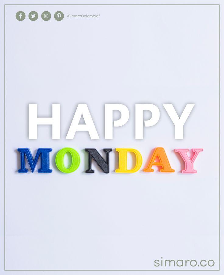 Feliz  inicio de semana 👉🏻 https://simaro.co/ @SimaroColombia #SimaroColombia #FelizLunes #MondayMood #HappyWeek #FelizSemana #SimaroCo 🇨🇴 #LoEncontramosPorTi #SimaroBr 🇧🇷 #SimaroMx 🇲🇽 #TiendaOnline #ECommerce #Diversion #Novedades #Compras #Regalos #Descuentos