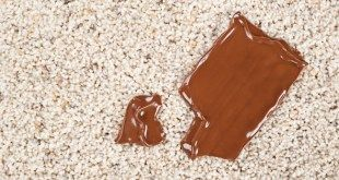 How to remove chocolate stains from upholstery, clothing and carpets