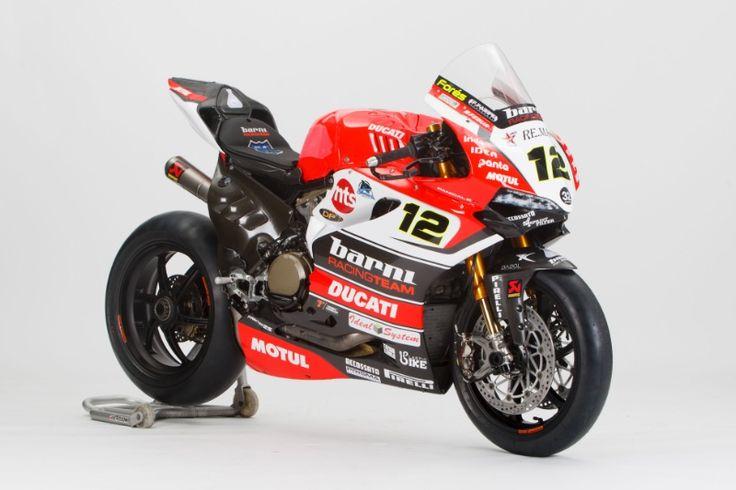 Fores' Ducati, Australian WSBK, 2017. Photo courtesy of WorldSBK