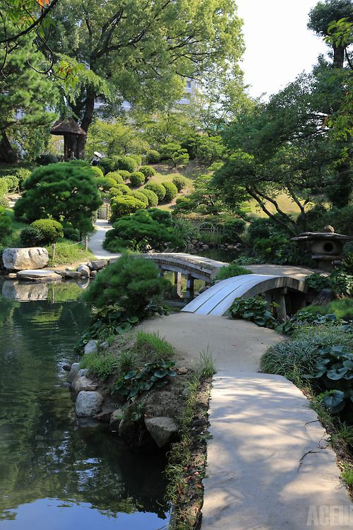 Japanese garden Picture for wall art.