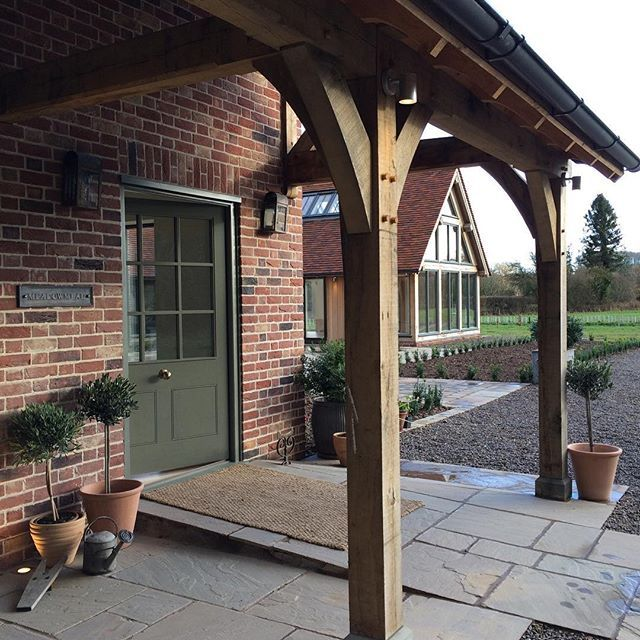 #meadowmead #borderoak #porch #oak #oakframe #verandah