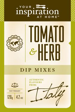 Tomato Herb Dip Mix  The sweetness of tomatoes in this dip gives a distinct Italian flavour to sauces, breads and bruschetta.   www.stephaniebennett.yourinspirationathome.com.au www.facebook.com/stephaniebennett.yourinspirationthome.